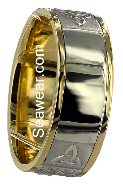 newgrange all colors of a and personalised the spirals into symethrically ogham t centre wedding words maher position band translated index in around pieces incorporate ring wide rings